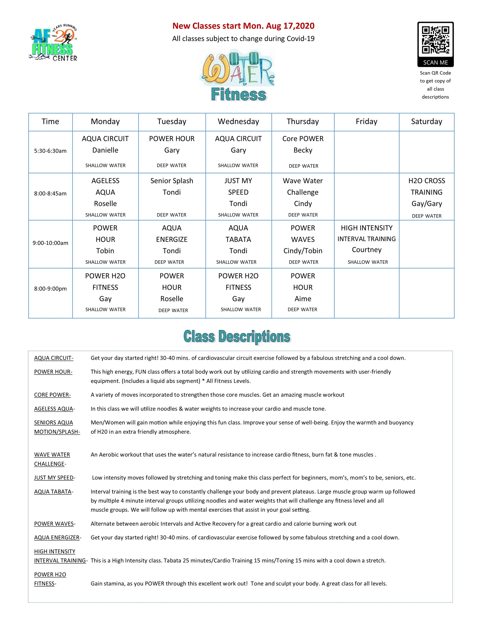 Water Fitness Schedule FALL 2020 COVID 2.jpg
