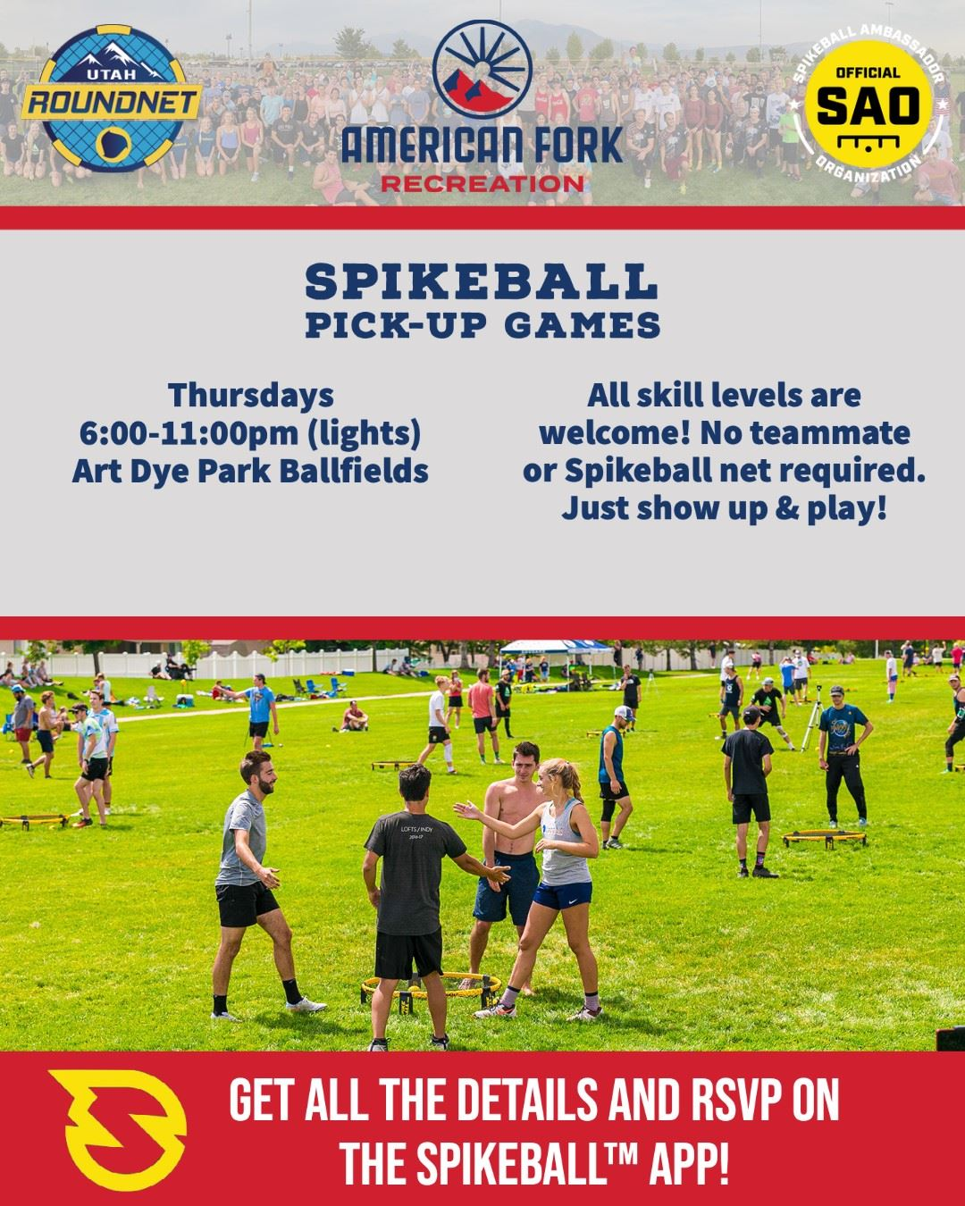 Spikeball open play