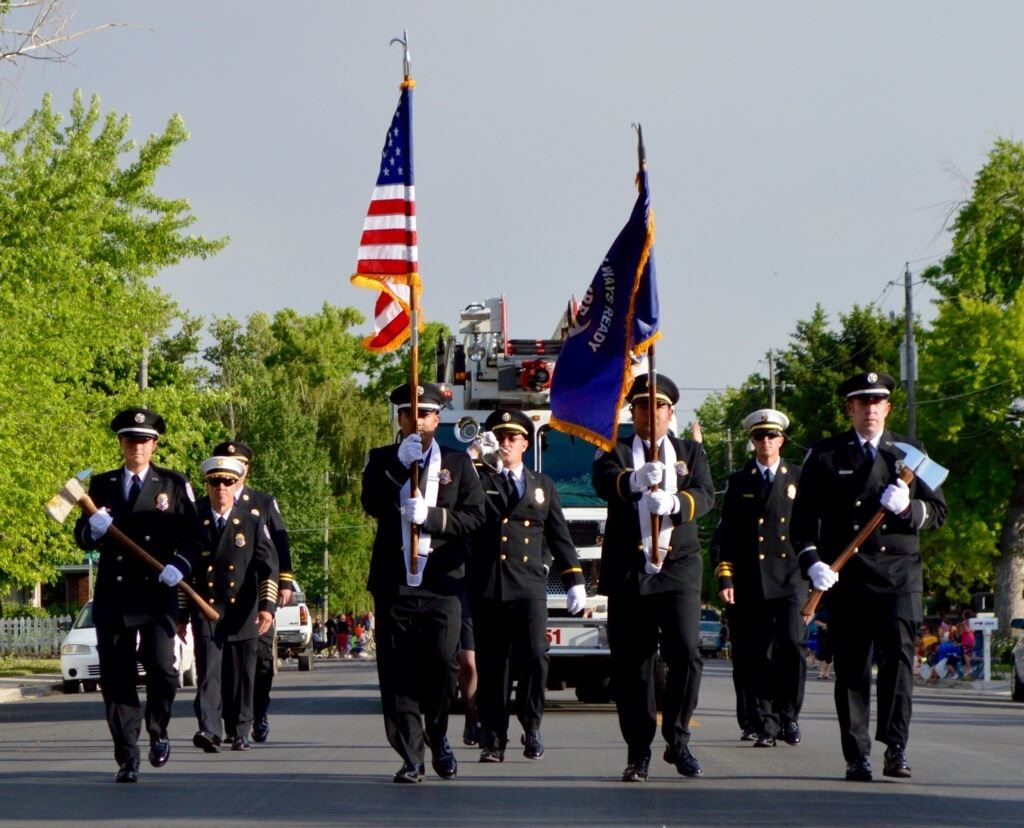 Fire Department Lead Parade