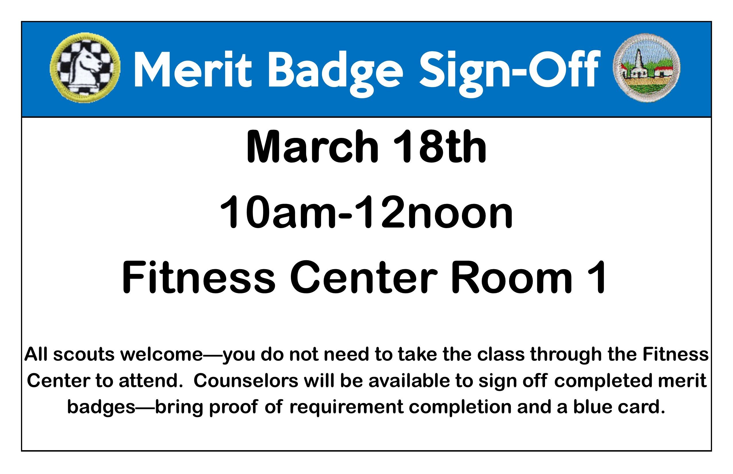 Personal Fitness Merit Badge Log - The Best Badge In The World
