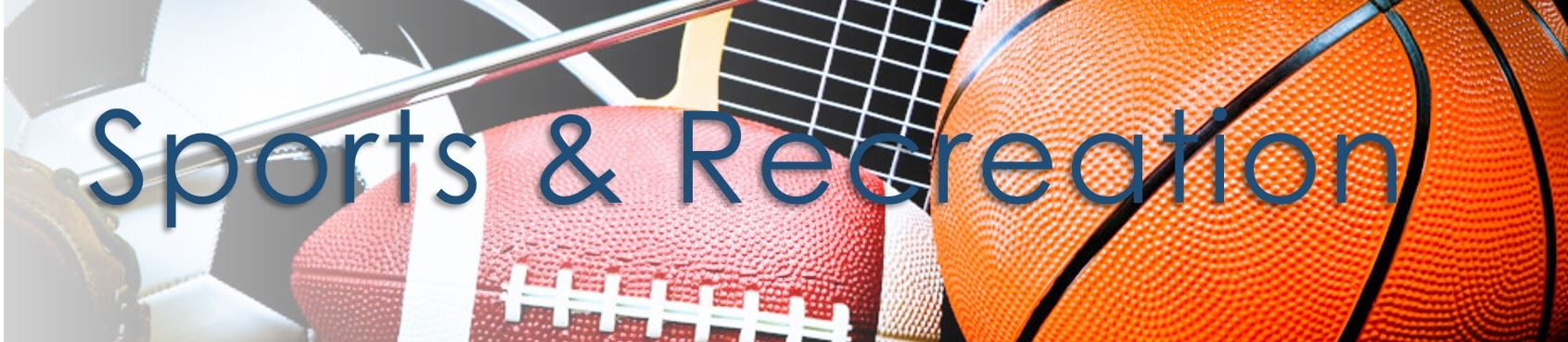 sports recreation banner