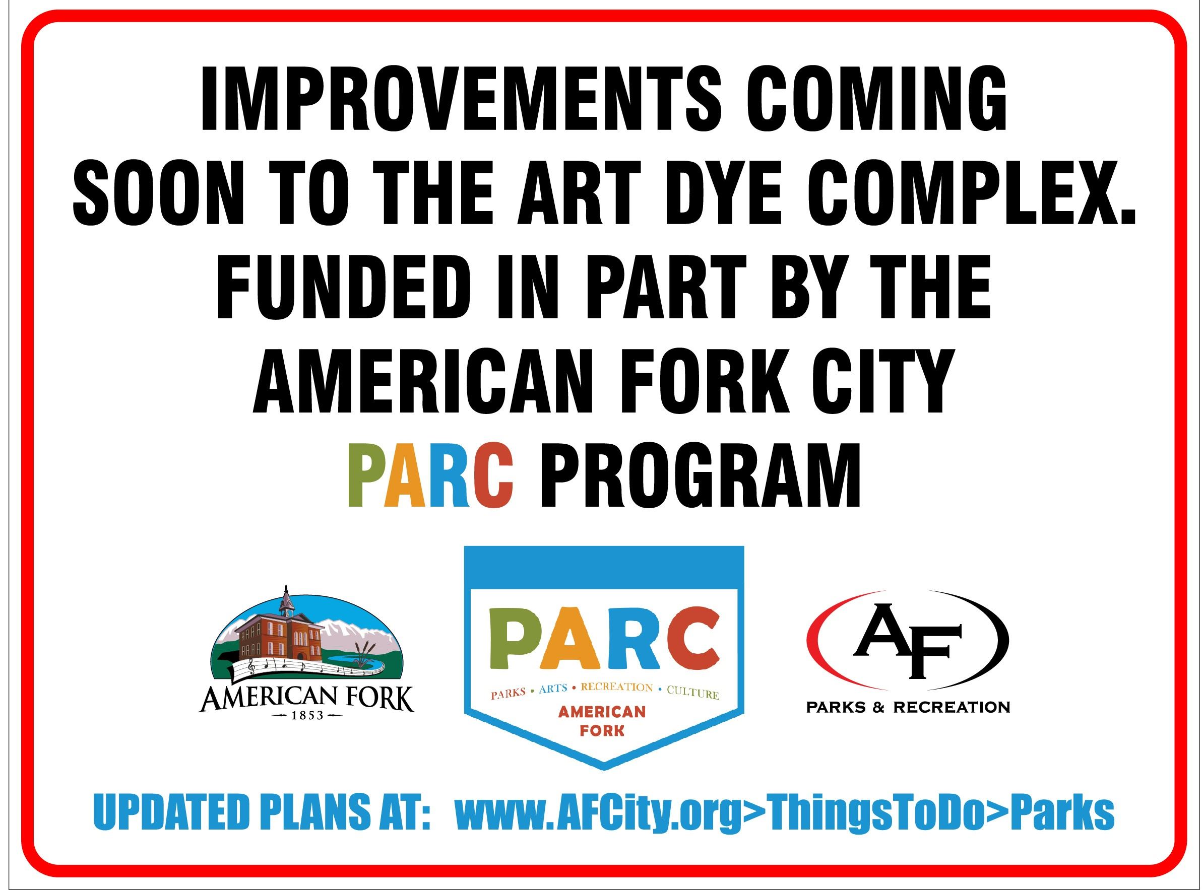 AF City PARC sign-A. Dye